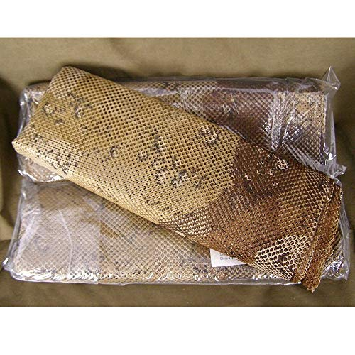 US Army Genuine Military Issue GI Infantry Ghillie Camouflage Tactical Mesh Sniper Camo Veil Fabric Netting 5 x 8 (Desert)