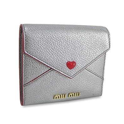 wholesale dealer 531ab 4ee20 Amazon | ミュウミュウ MIU MIU レディース 3つ折り財布 サイフ ...