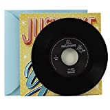 Hallmark Birthday Greeting Card with Vinyl Record