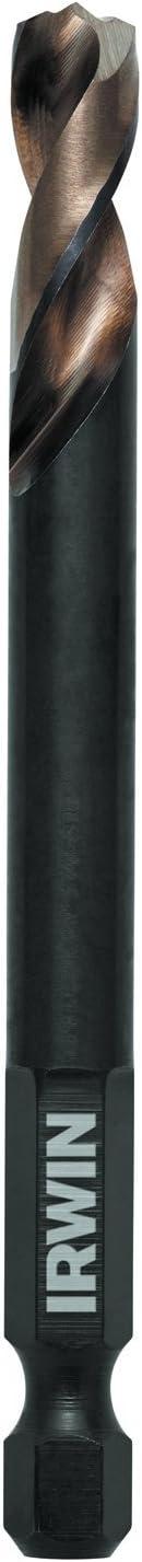 """IRWIN Tools 1871041 Impct Performance Series 9//32/"""" Turbomax Black/&old Drill Bit"""