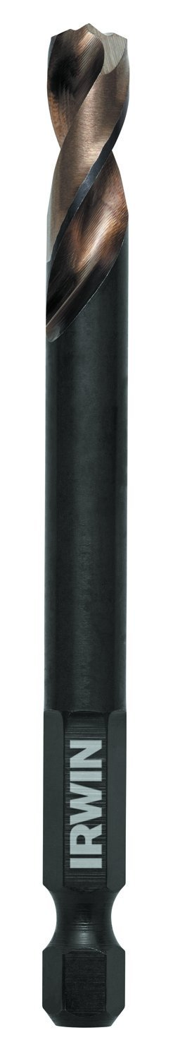 Irwin Tools 73427 27//64-Inch Turbomax Jobber Length 3//8RS 6-Pack