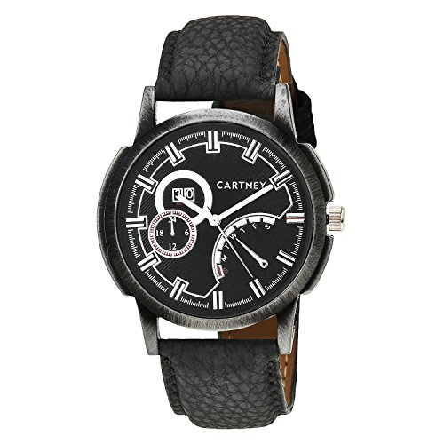 CARTNEY Analogue Black Dial Men's Watch -CT108