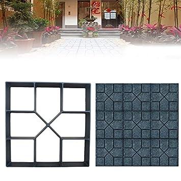 Shoppy Star - Molde para pavimentos de hormigón, para pavimento de Piedra, jardín, Carretera, Accesorio para Tabla de Carretera: Amazon.es: Jardín