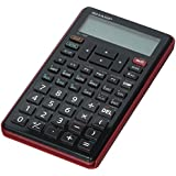 Sharp 10-Digit Financial Calculator, LCD, 3-1/4x5-7/8x1/2, BK (EL-738FB)