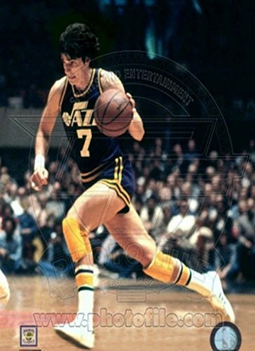 Utah Jazz - Pete Maravich Photo Photo Sport Poster