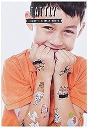 Tattly Temporary Tattoos Kids Mix One, 1 Ounce