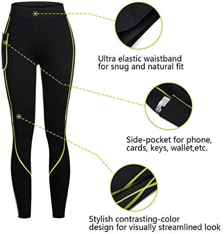 Rolewpy Women Neoprene Sauna Slimming Pants Hot Thermo Sweat Body Shaper Capri for Leggings 5