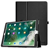 Fintie iPad Pro 12.9 Case - [Corner Protection] Premium PU Leather Folio Smart Protective Cover with Auto Sleep / Wake, Multi-Angle Viewing for iPad Pro 12.9 2nd Gen 2017 / 1st Gen 2015, Black