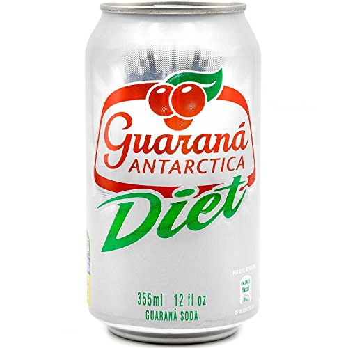 Amazon Diet Energy (Guaraná Antarctica Diet 355ml (Pack of 12))