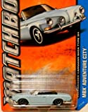 Matchbox MBX Adventure City - Volkswagen Karmann Ghia Type 34 Scale 1:64