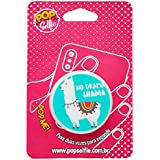 Popsocket Original no Drama Lhama Ps190, Pop Selfie, 151386, Branco