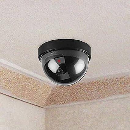 Techos Vigilancia Falsa con detección de movimiento 360 ° dom Dummy Cámara
