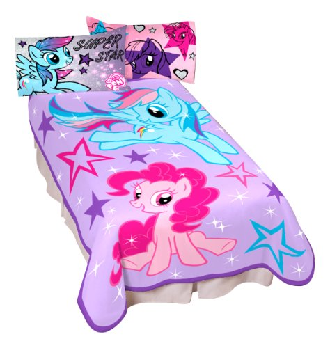 For Sale! Hasbro My Little Pony Sparkle and Fly Micro Raschel Children Blanket