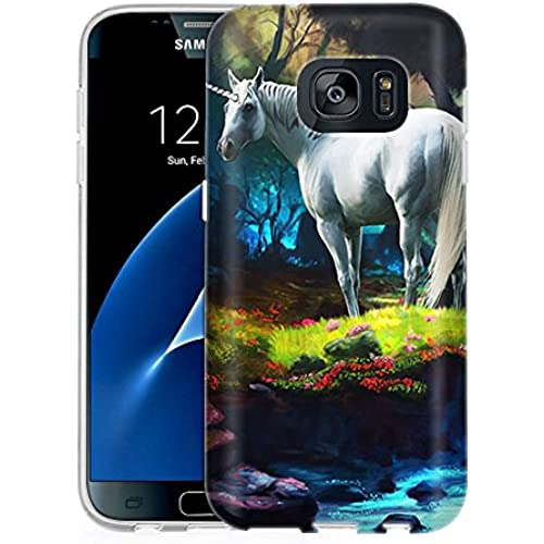 Samsung Galaxy S7 Case, Snap On Cover by Trek Unicorn One Piece Slim Case Sales