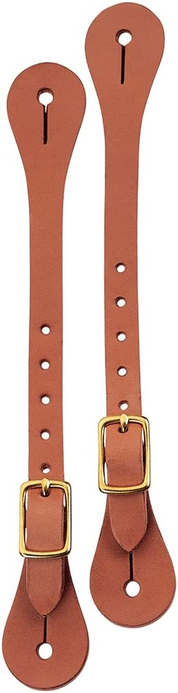 Weaver Leather Harness Leather Spur Straps Russet