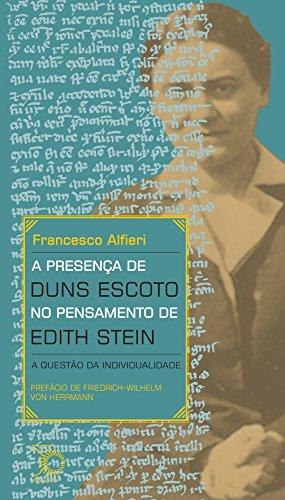 A Presença de Duns Escoto no Pensamento de Edith Stein. A Questão da Individualidade