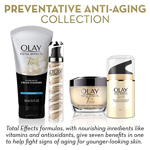 51IFWy0MNqL - Face Moisturizer with SPF 30 by Olay Total Effects, 7 Benefits , Anti-Aging , 1.7 oz (Packaging May vary)