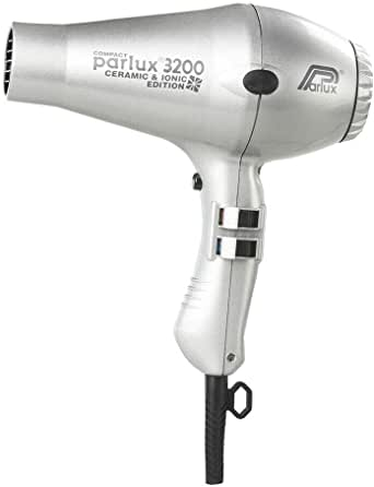 Parlux 3200 Ceramic & Ionic Dryer 1900W, Silver