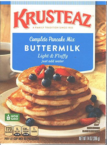 Krusteaz Buttermilk Light & Fluffy Complete Pancake Mix 14 Oz