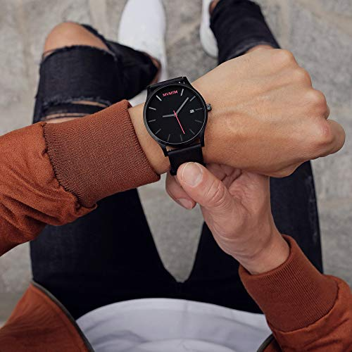 MVMT Men's Minimalist Vintage Watch with Analog Date 4
