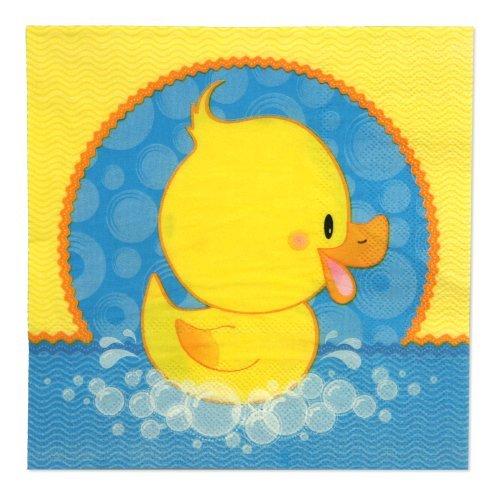 Ducky Duck - Luncheon Napkins (16 count) (Ducky Paper)