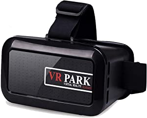 Agkey VR 3D Glasses Virtual Reality Movies for 3D Movies Compatible with 4.0-6.0 Inches Screen for iPhone X 8 Plus 7 Plus 6S Plus Samsung S9 S8 S7 S6 Note 5 4 LG Huawei HTC More Smartphones