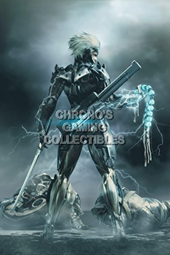 """Price comparison product image CGC Huge Poster - Metal Gear Rising Revengeance PS3 XBOX 360 - MGR008 (24"""" x 36"""" (61cm x 91.5cm))"""