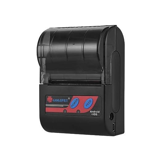 EasyBuying Goojprt MTP-II impresora térmica portátil de 58 ...