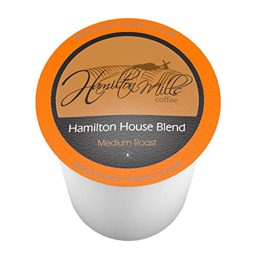 Hamilton Mills Hamilton House Blend, Single-Cup coffee for Keurig K-Cup Brewers, 40 Count