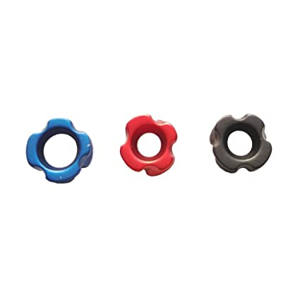 5Pcs Archery Aluminium Peep Sight for Compound Bow Hunting 3//16inch Red