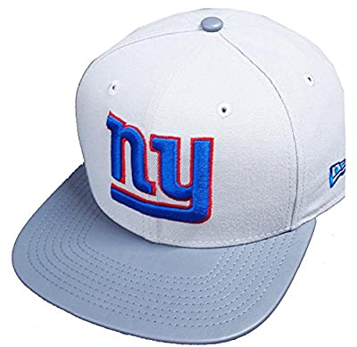 New Era New York Giants NFL Grey Storm 9fifty 950 Snapback Cap Original Fit OSFA Basecap Limited Edition