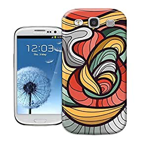 BY SHICASE Durable Protector Case Cover With Coloful Pattern 3D Design For Samsung Galaxy s3