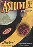 img - for Astounding Stories 1937 Vol. 19 # 06 August: Frontier of the Unknown (conc) / Released Entropy (pt 1) / Crystallized Thought / Jupiter Trap / Specialization / Temporary Warp / The Time Bender / Space Blister book / textbook / text book
