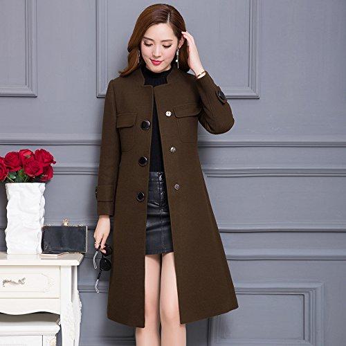 349e16bf9 QIN&X Otoño invierno mujer vellón de lana Tops Coat ropa casual ...