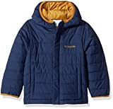 Columbia Boys' Little Powder Lite Puffer Jacket, Collegiate Navy, Small