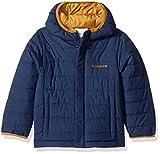 Columbia Little Boys' Powder Lite Puffer Jacket, Collegiate Navy, XX-Small