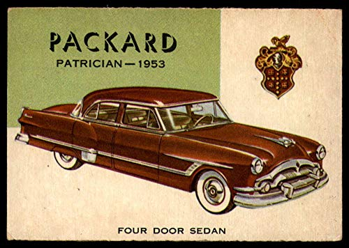NonSport 1953-55 World on Wheels #97 1953 Packard Patrician for sale  Delivered anywhere in USA
