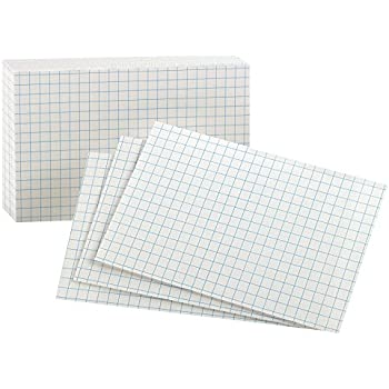 Amazon.com : Levenger 100 3 X 5 Dot Grid Cards (ADS8920) : Office ...