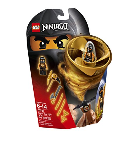 LEGO Ninjago Airjitzu Cole Flyer 70741 Building Kit -
