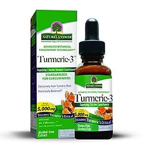 Nature's Answer Turmeric-3 Liquid, 1-Fluid Ounce