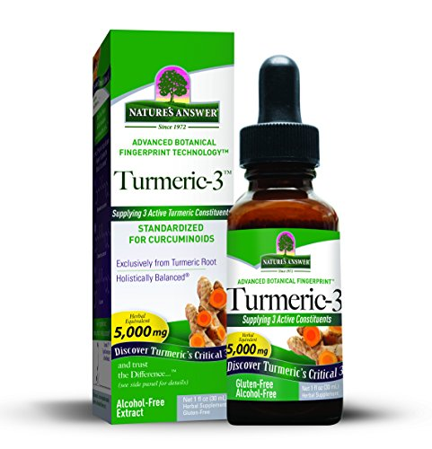 Natures Answer Turmeric 3 Liquid 1 Fluid product image