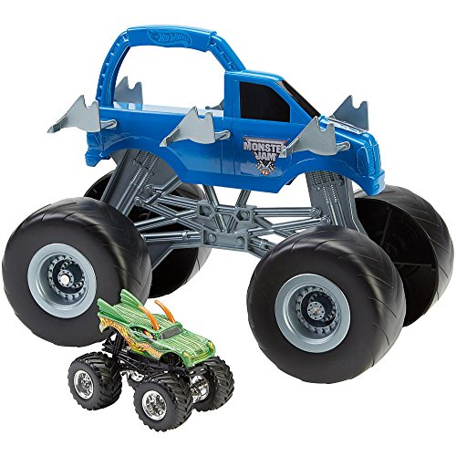 Toys R Us Exclusive Hot Wheels Monster Jam Colossal Carrier Vehicle - Exclusive Hot Toys