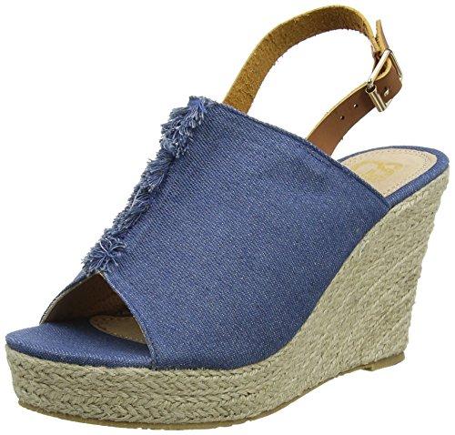 CASSIS COTE D'AZUR WoMen Bagnera Sandals Blue (Bleu)