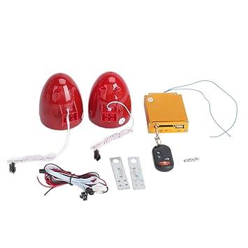 Motocicleta antirrobo Seguridad sistema de alarma con MP3 ...