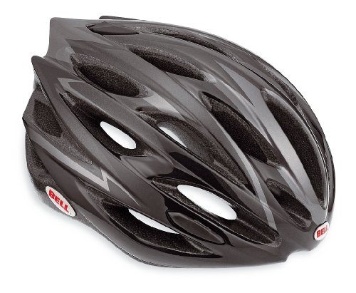 Bell Lumen Bicycle Road Helmet, Black/Carbon, Small (Carbon Hardbody)