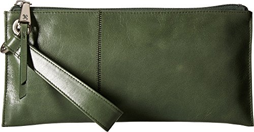 Hobo Womens Leather Vintage Vida Clutch Wallet (Moss) by HOBO