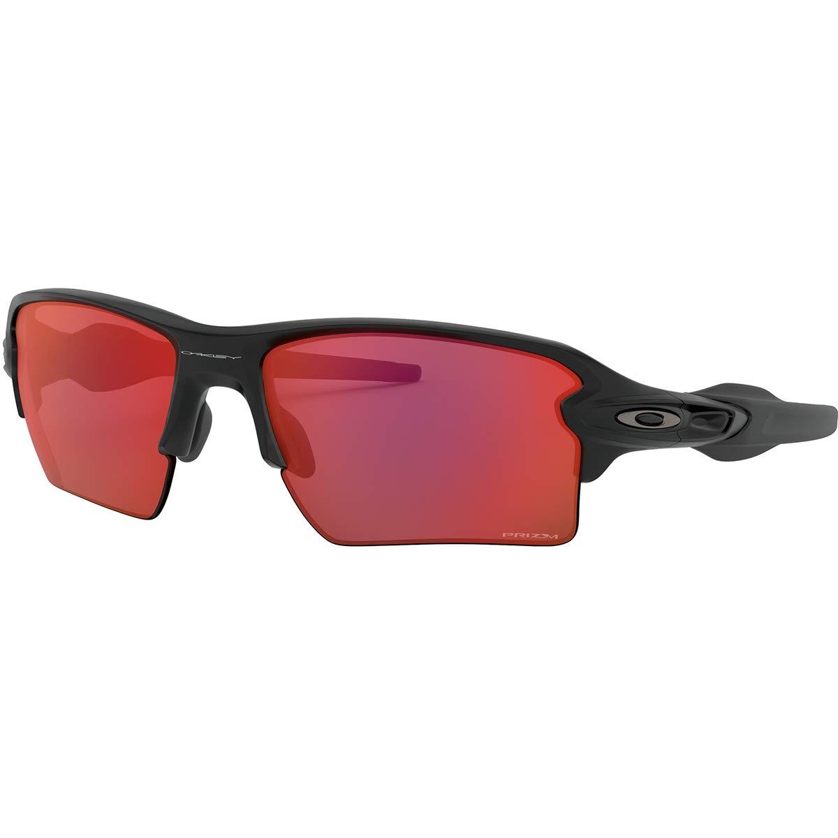 Oakley Flak 2.0 XL Sunglasses,OS,Matte Black/Prizm Trail Torch