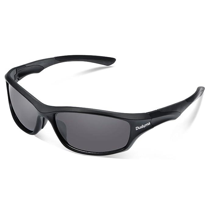 Duduma Gafas de Sol Deportivas Polarizadas Para Esquiar Golf Correr Ciclismo TR636 Súper Liviana Para Hombre y Mujer