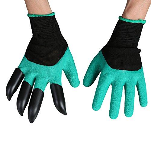 Garden Gloves Fingertips Right Claws