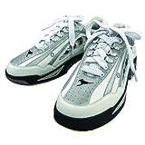 (ABS) ボウリングシューズ NV-4 ホワイト・シルバー 【ボウリング用品 靴】